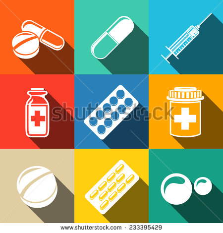 Medical clipart liquid medicine Medicine white set Medical long