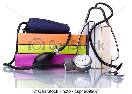 Medicine clipart medical school A stack Picture  books