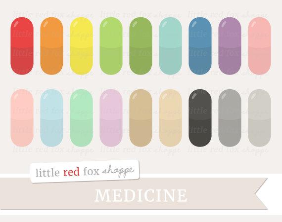 Medicine clipart cute  RX Art Clipart Clipart
