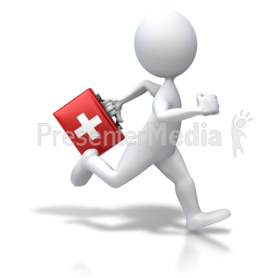 Medicine clipart animated PowerPoint Aid Art Running Great
