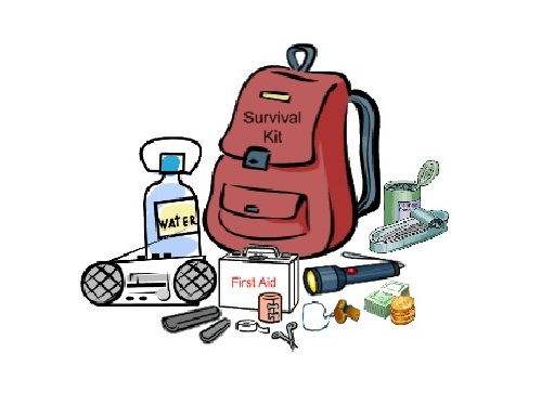 Camping clipart survival kit Clipart Survival survival collection kit