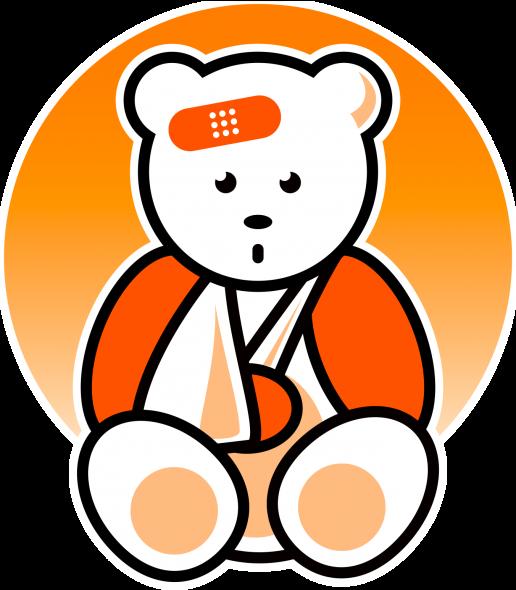 Medical clipart teddy bear From Hospital means or