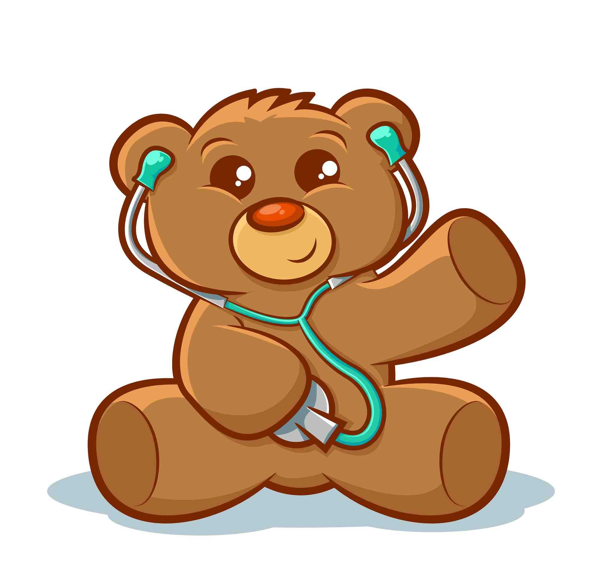 Medical clipart teddy bear Her of Memorial Crawford Let