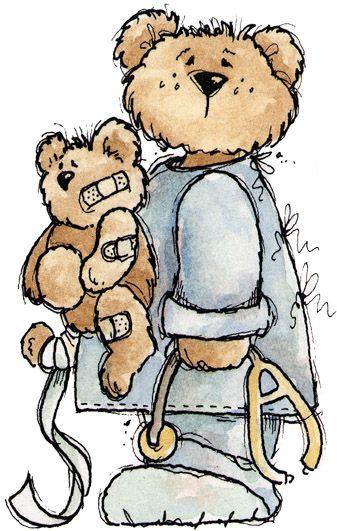 Medical clipart teddy bear 385 Clipart Well Get Pin