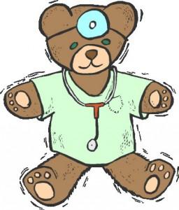 Medical clipart teddy bear For Children Emergency Regency at