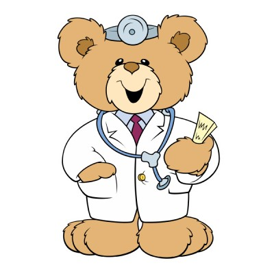 Medical clipart teddy bear Clipart home download WikiClipArt Pediatrician