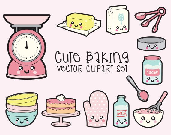 Baking clipart welcome hand Art Clipart Quality Kawaii Clip