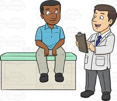 Chest clipart doctor sick patient #carefor His Doctor A Stethoscope