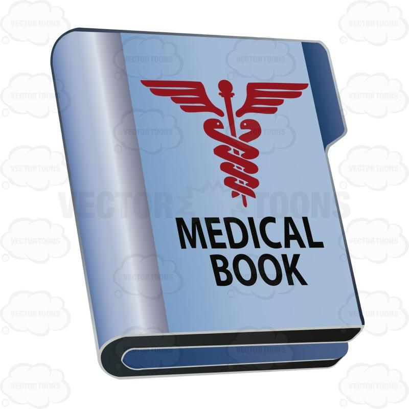 Medicinal clipart medicine Large Book Medical Clipart Book