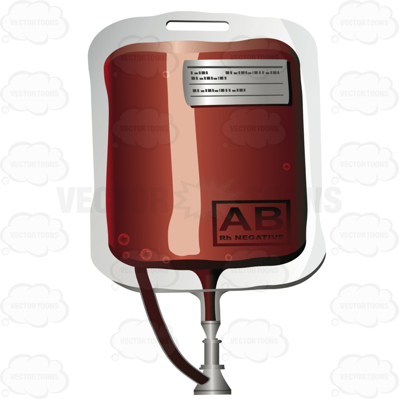 Blood clipart blood bag Blood Abs and Of Ab