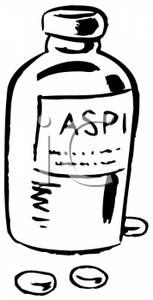 Medicine clipart aspirin Clipart Picture Aspirin Royalty White