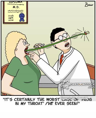Medicine clipart funny Ear Throat Cartoons pictures Ear