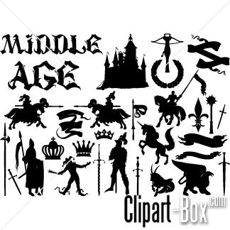 Medieval clipart Medieval art Fans #30 medieval