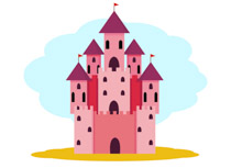 Medieval clipart Pink Graphics Medieval Pictures Clipart