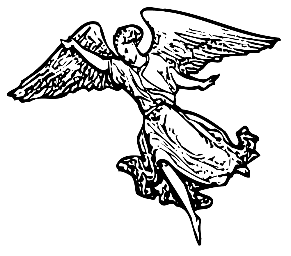Angel clipart medieval #2