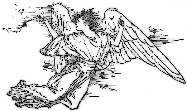 Angel clipart medieval #14