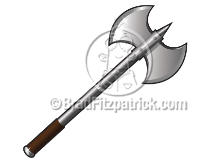 Drawn axe Clipart Axe Ax Wm006 tiechessuaz: