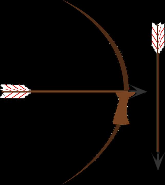 Arrow clipart medieval Vector weapon Arrow Bow clipart