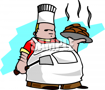 Medieval clipart cook The Plate clipart  man