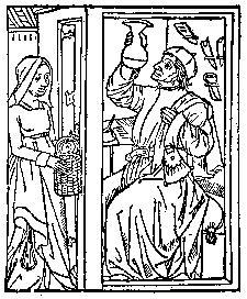 Medieval clipart cook Sanitatis Tacuinum