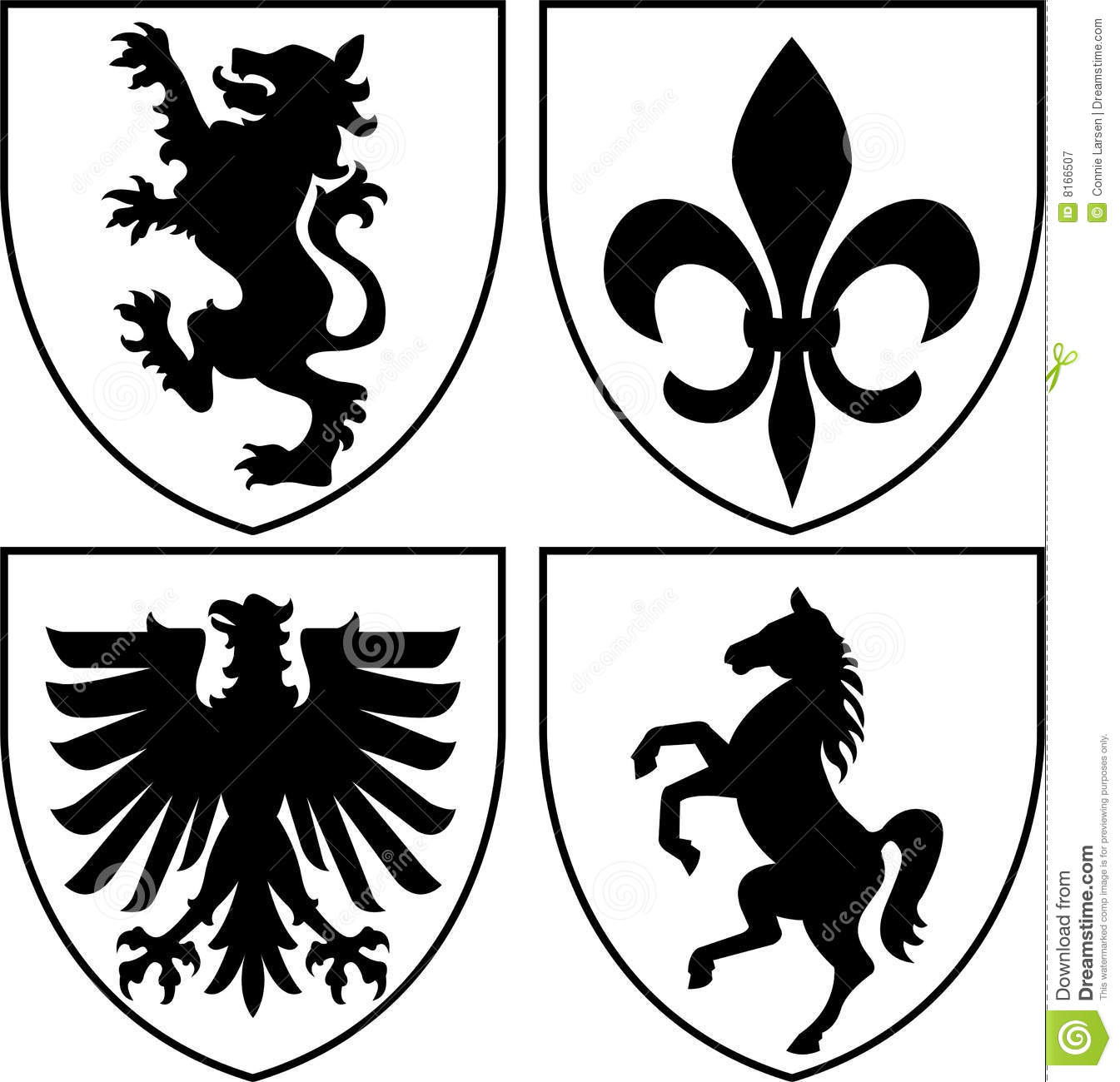 Medieval clipart crest Of Free Free Royalty Arms