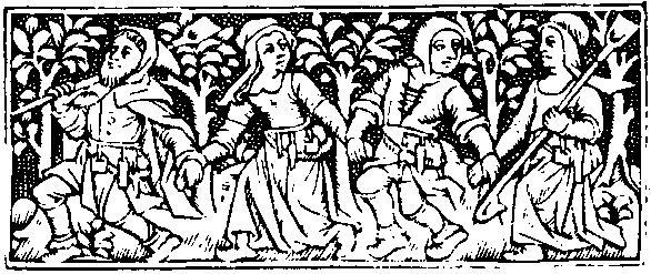 Medieval clipart dancing Collection  Clipart Woodcuts Medieval
