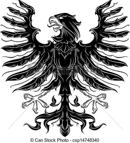 Black Eagle clipart german eagle Eagle eagle Clip heraldic Clipart