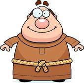 Monk clipart Friar Friar Royalty Art Smiling