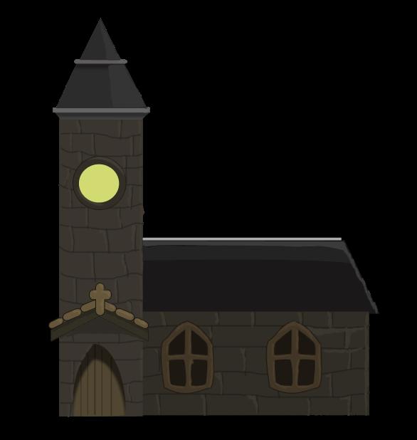 Steeple clipart medieval church Domain Use Art Public Clip