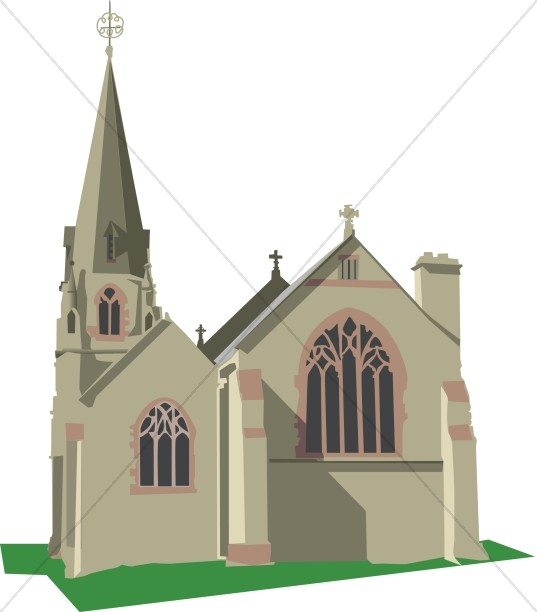 Steeple clipart medieval church Sharefaith Graphics Images Ornate Church