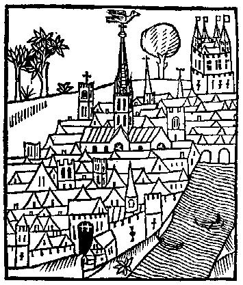 Medieval clipart medieval city #2