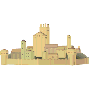 Medieval clipart medieval city #3