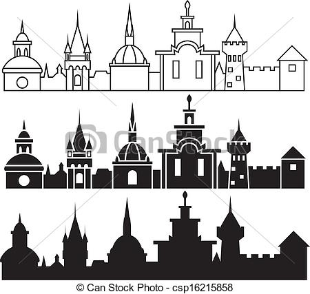 Medieval clipart medieval city Art Clipart Clipart Images Town