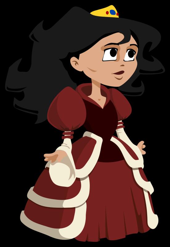 Medieval clipart medieval maiden Princess Princess Clipart com Clipartion