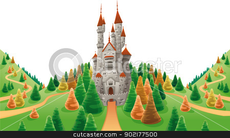 Medieval clipart medieval manor Land Panorama images: medieval with