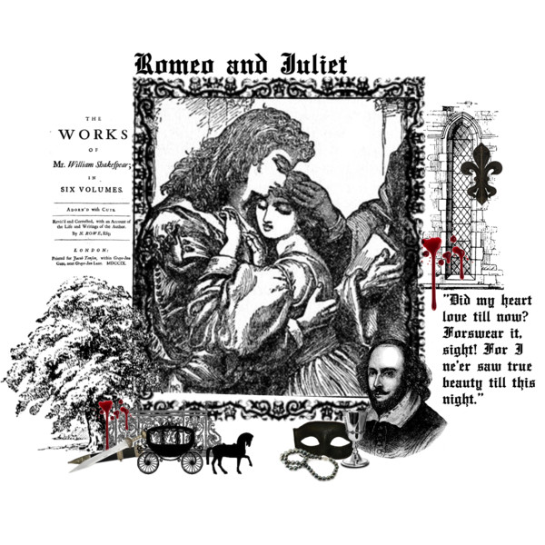 Medieval clipart romeo Romeo Clipart Juliet and Polyvore