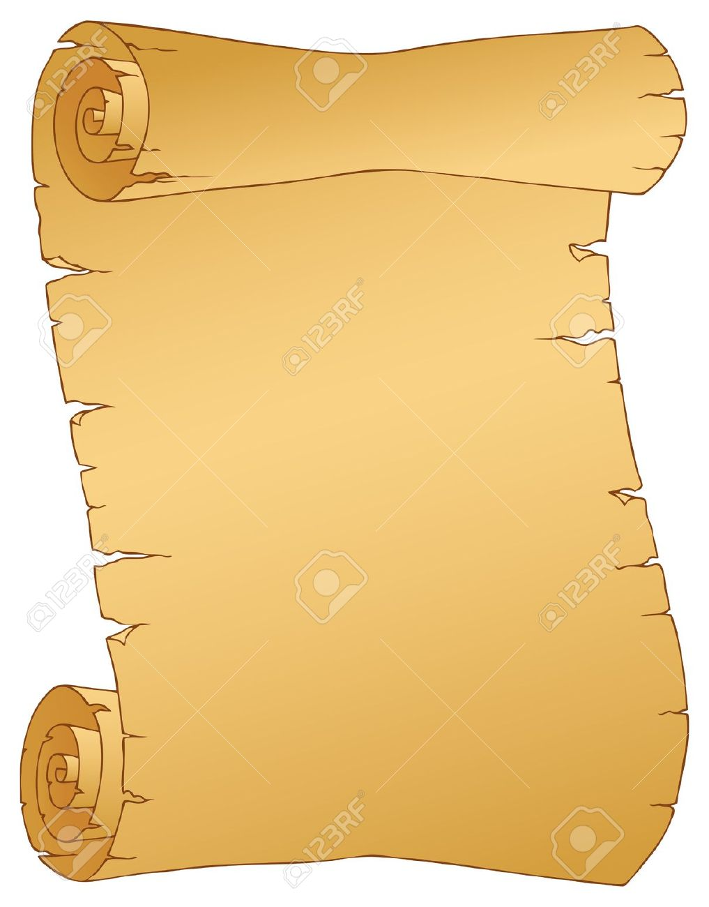 Notebook clipart parchment Scroll Scroll Medieval Clipart Download