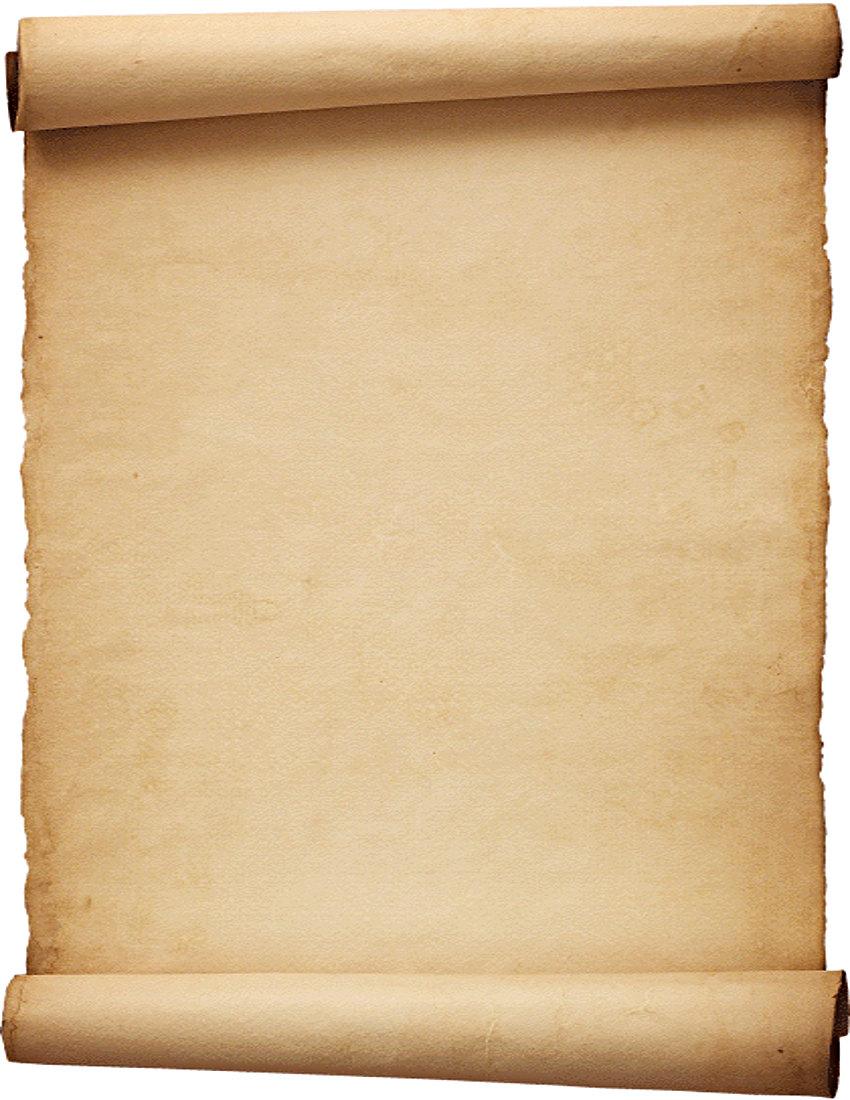 Scroll clipart parchment Parchment Parchment scroll background