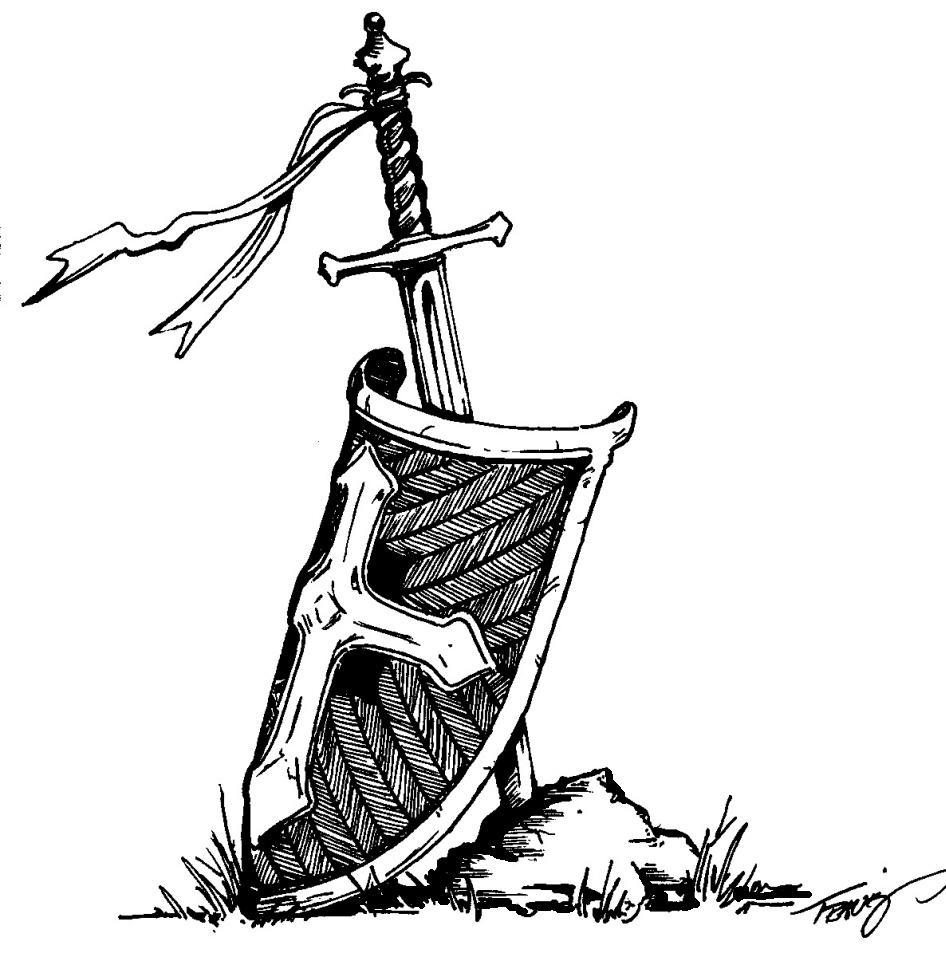 Drawn shield god is Shield Search shield sword Google