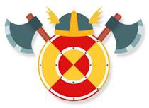 Medieval clipart viking Clipart warrior Size:  From: