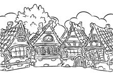 Medieval clipart villager Clipart coloring medieval house clipart