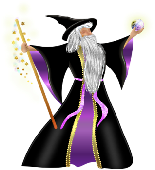 Wizard clipart medieval Clip Graphics 11 png wz