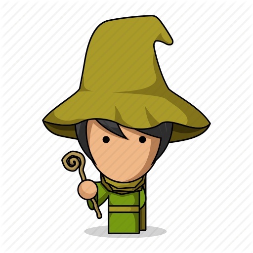 Wizard clipart medieval People character  Avatar game