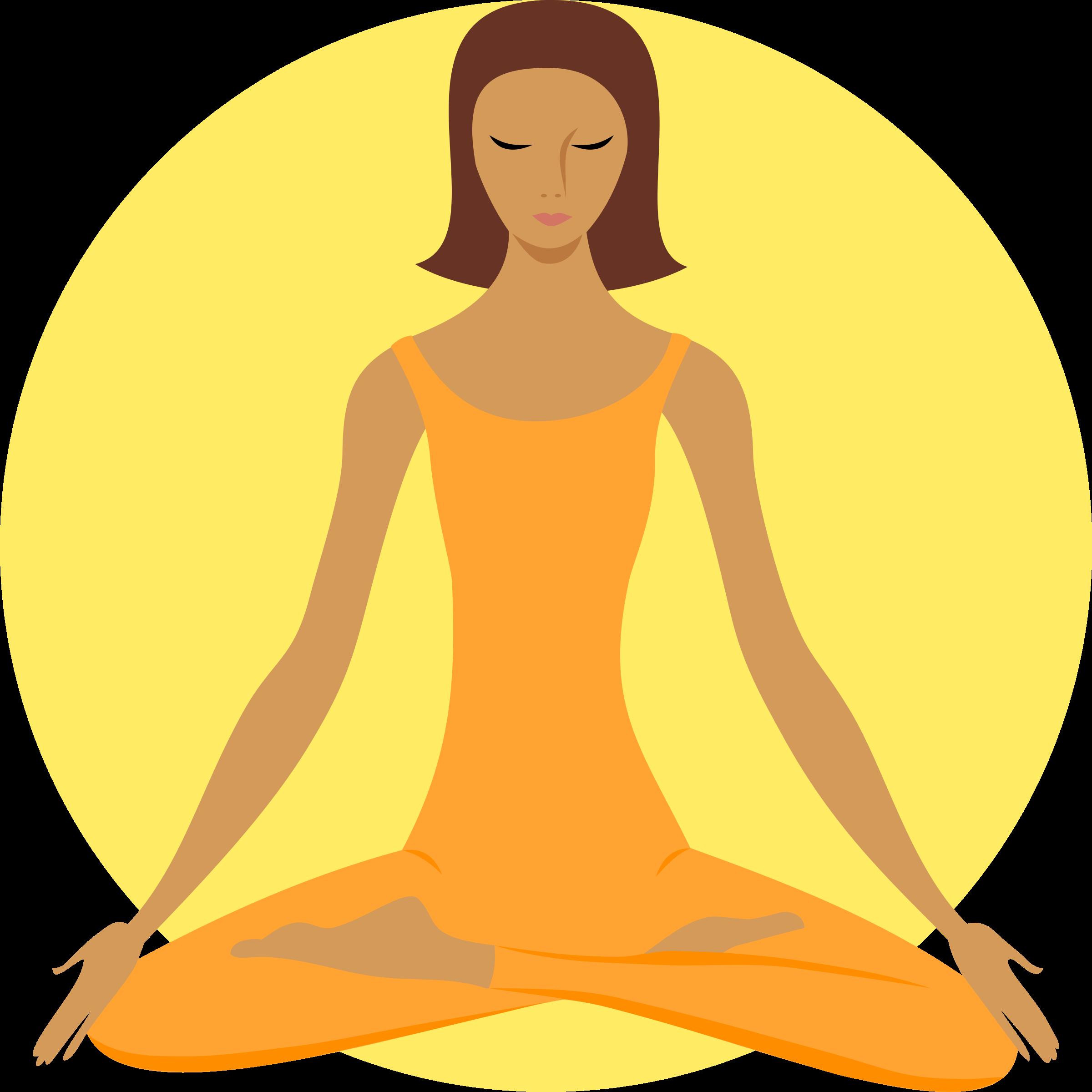 Meditation clipart Meditating Buddhist Clipart Buddhist Meditating