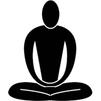 Meditation clipart PNG photo and Image Pic