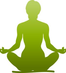 Meditation clipart Clip Of Meditating Clipart Meditating