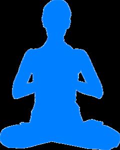 Meditation clipart Meditation vector art Clip Art