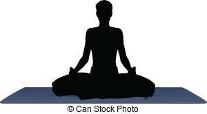 Meditation clipart Of  Meditation Illustration Yoga