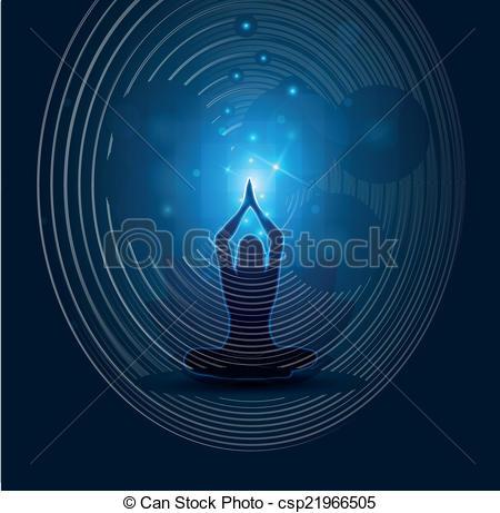 Meditation clipart abstract Yoga Yoga beautiful beautiful meditation