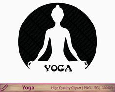 Meditation clipart abstract Clipart  meditation yoga design